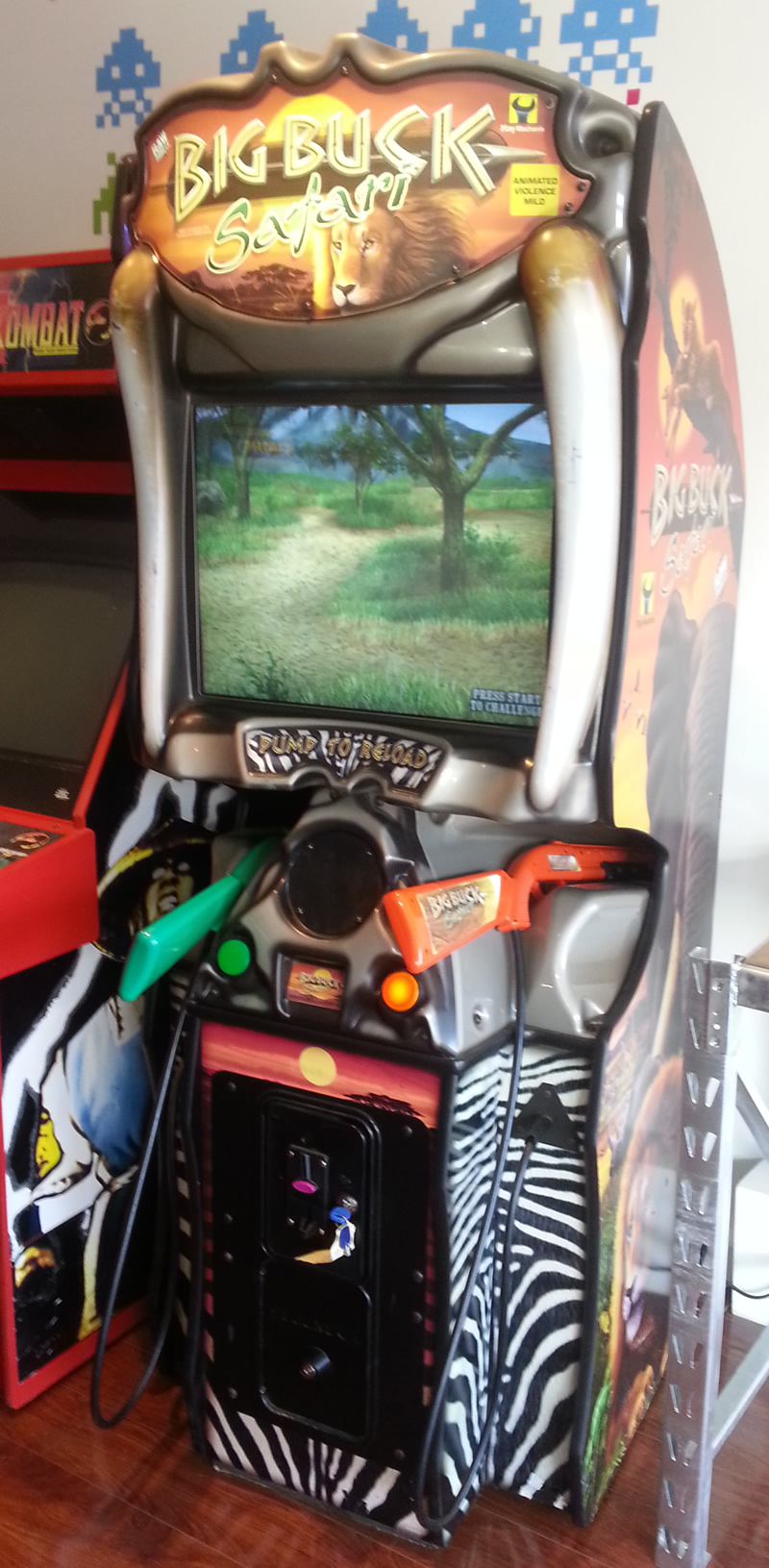 Big Buck Safari review at The Game Grid Arcade, Utah - YouTube