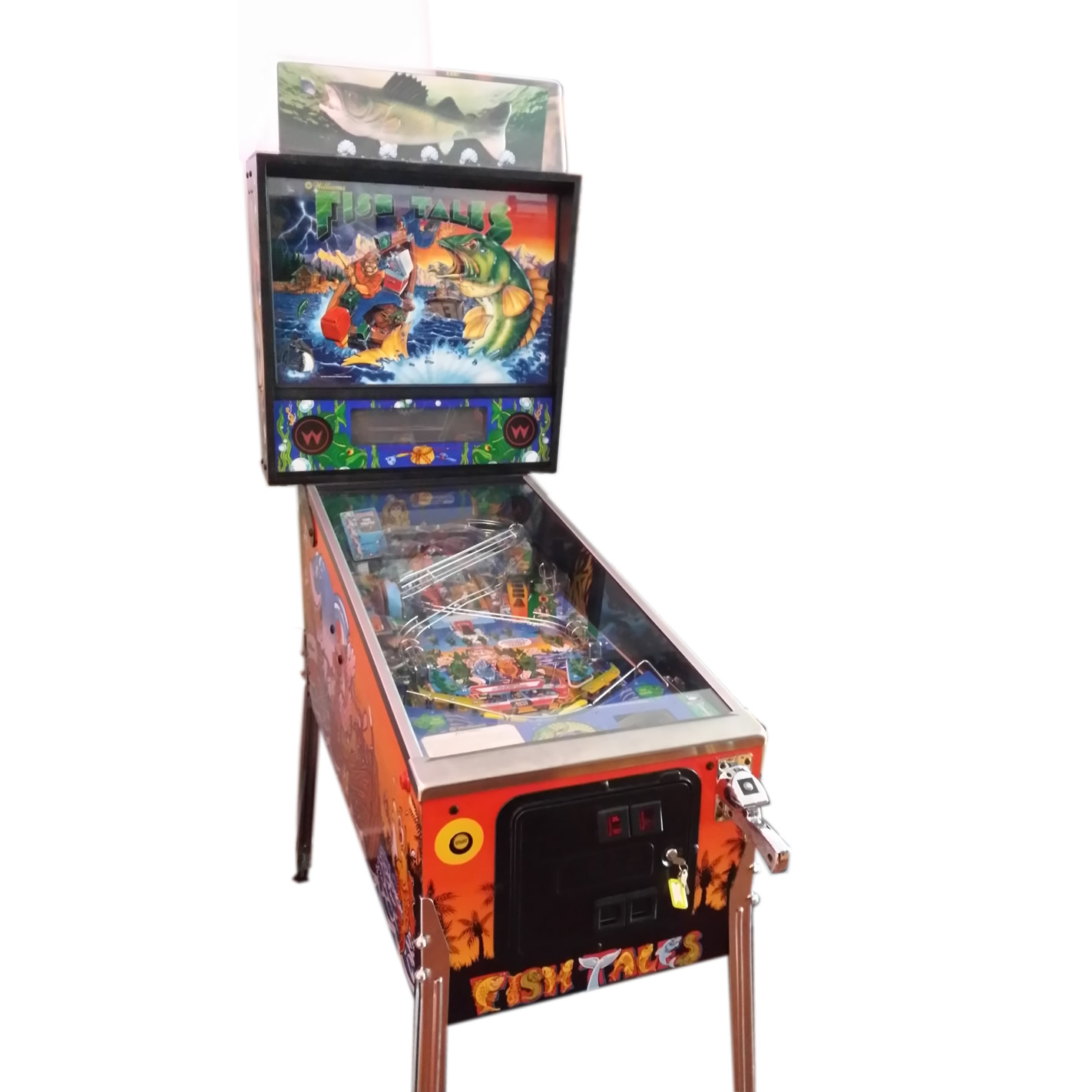 Fish tales pinball for Fish arcade game