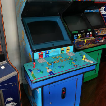 simpsons_arcade_machine