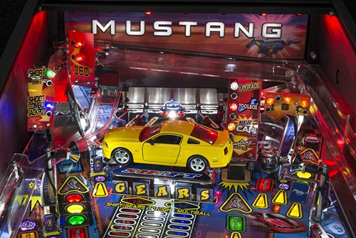 Ford Racing Parts >> Mustang Pro Pinball by Stern available now at Arcade Classics