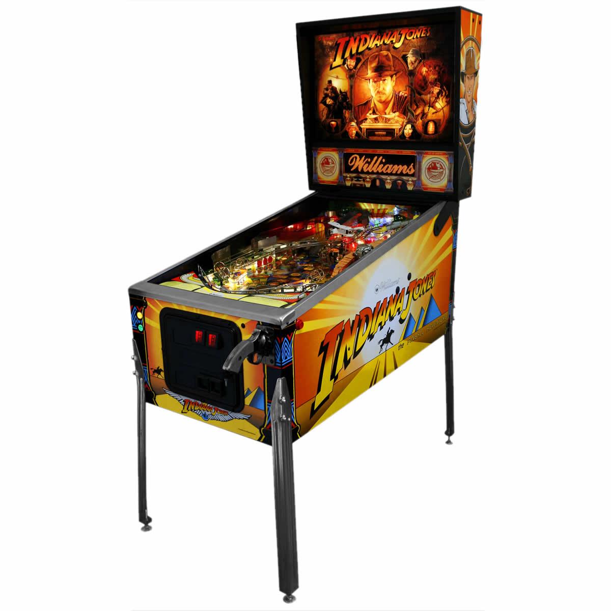 Arcade Driving School >> Indiana Jones Pinball
