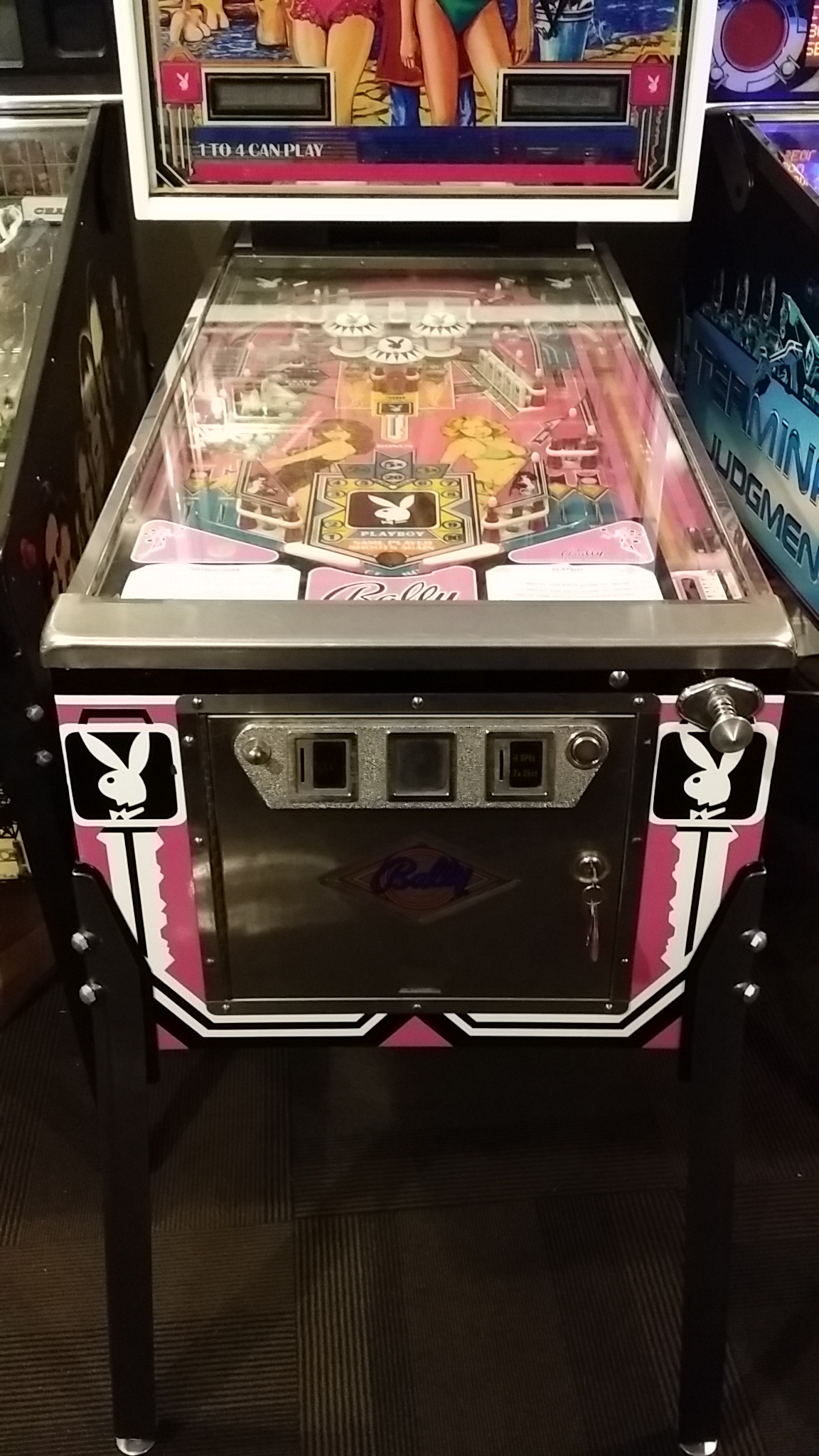 Playboy Pinball Machine For Sale At Arcade Classics Australia