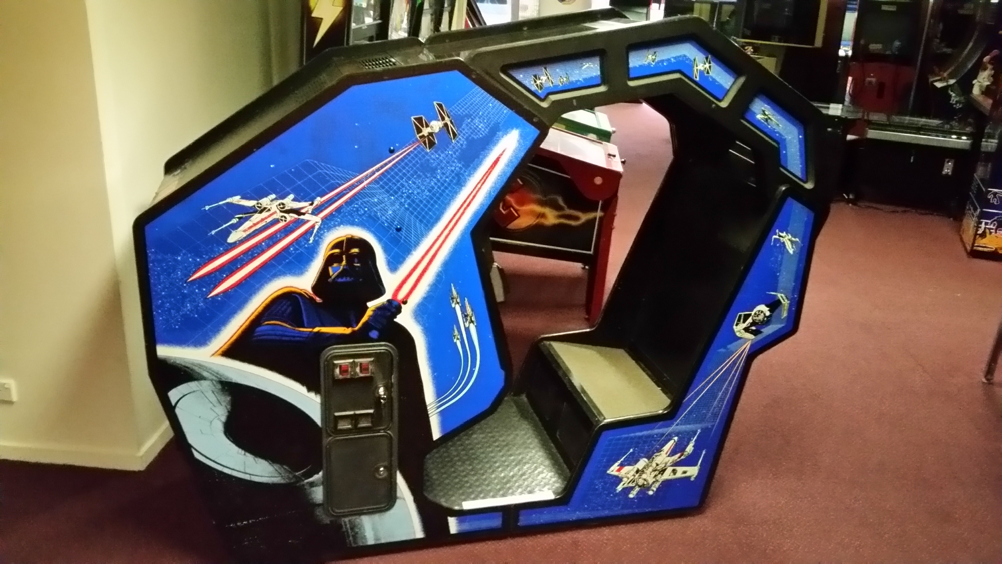 Star Wars Pinball Machine >> Star Wars Deluxe Cockpit 1983 - Arcade Classics Australia ...