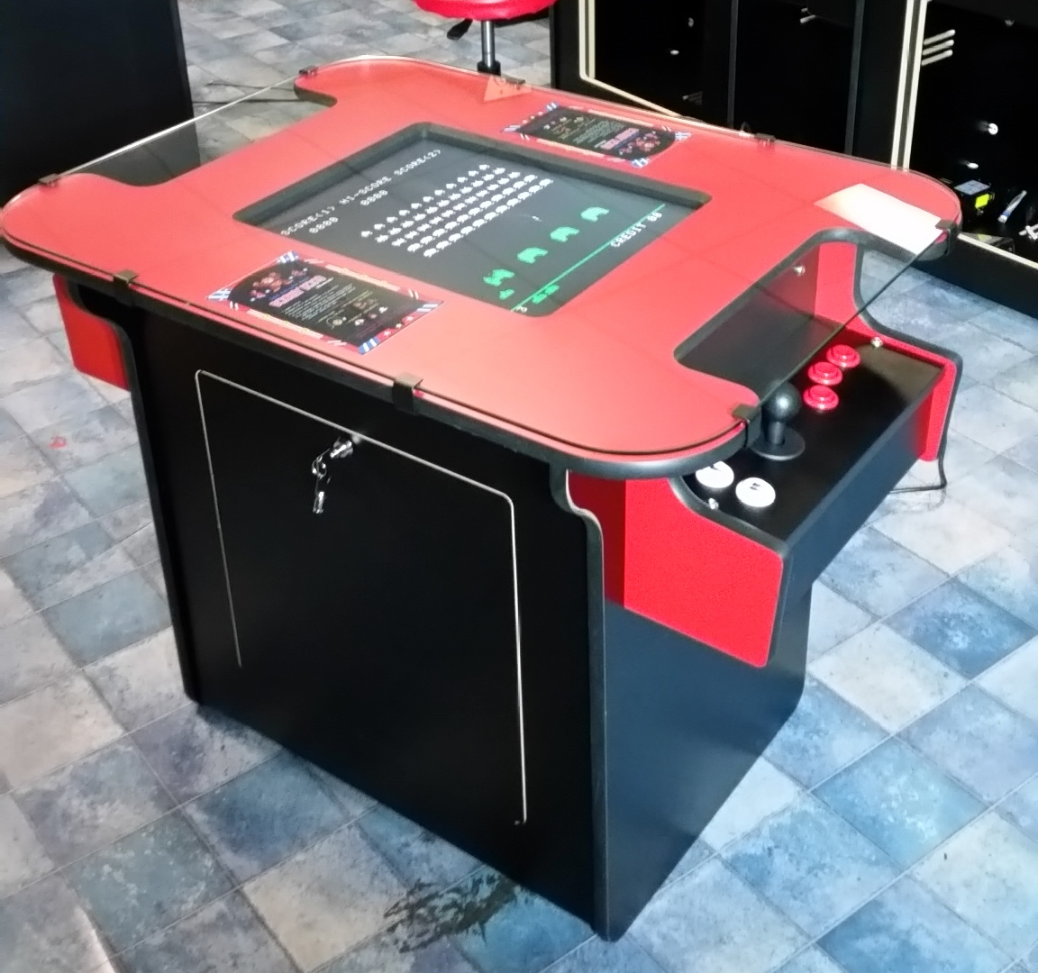 Pac Man Machine >> Arcade Tables Brand New and Made In Australia