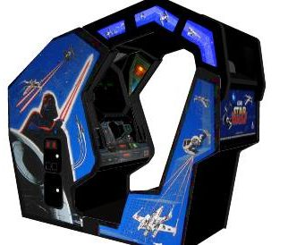 star wars arcade 1983 cockpit
