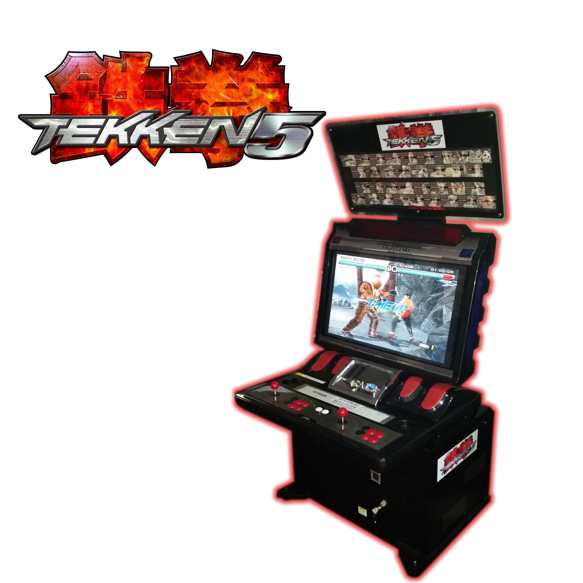 Tekken 5 - Arcade Classics Australia - Arcade Machines and ...