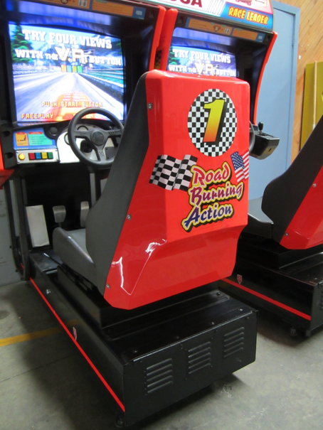 What Transmission Is In My Car >> Daytona USA Arcade Machine for sale at Arcade Classics