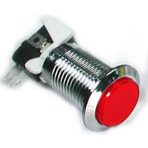 red_silver_led_push_button