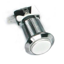 white_silver_led_push_button
