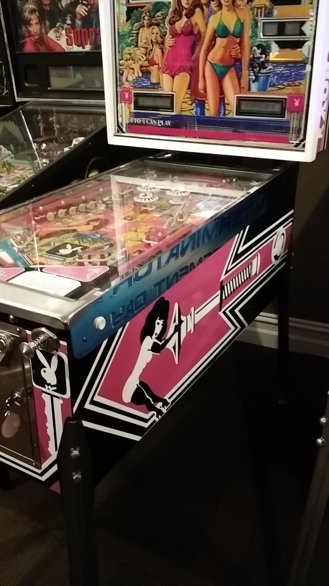 Playboy Pinball Machine For Sale At Arcade Classics Australia