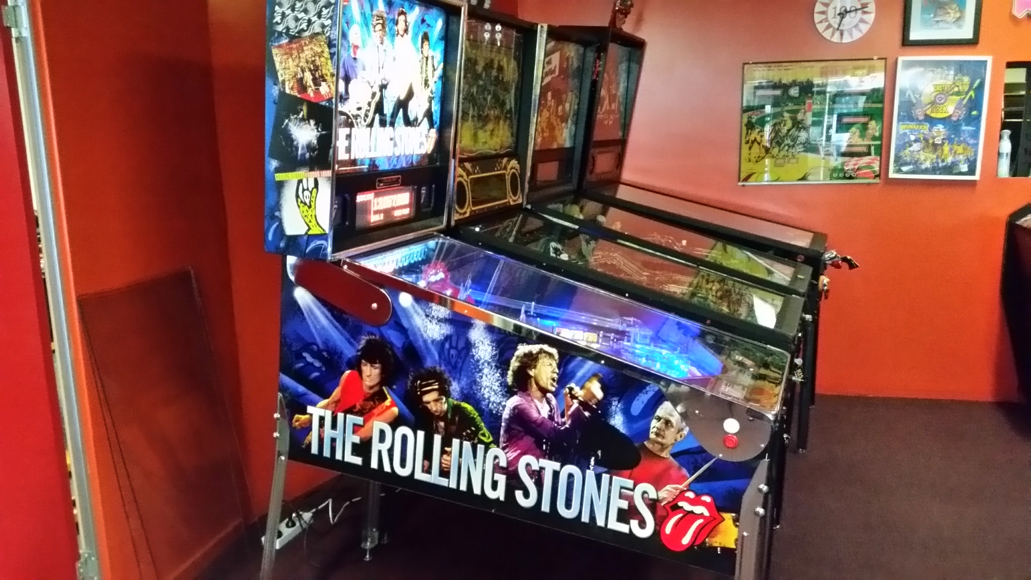 Rolling Stones Limited Edition Pinball Arcade Classics