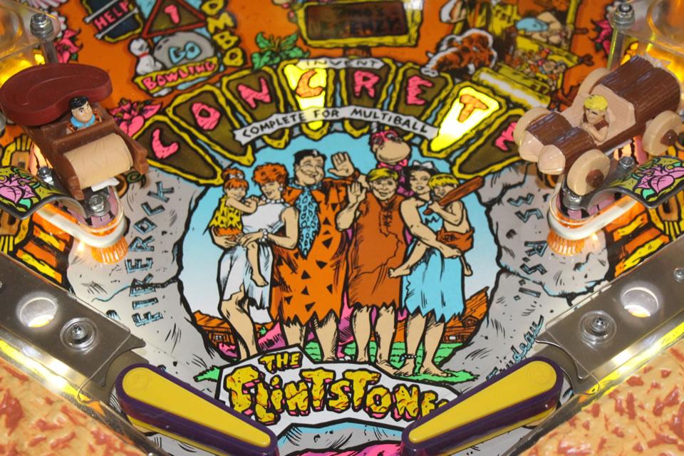 Flintstones Pinball Arcade Classics Australia Arcade