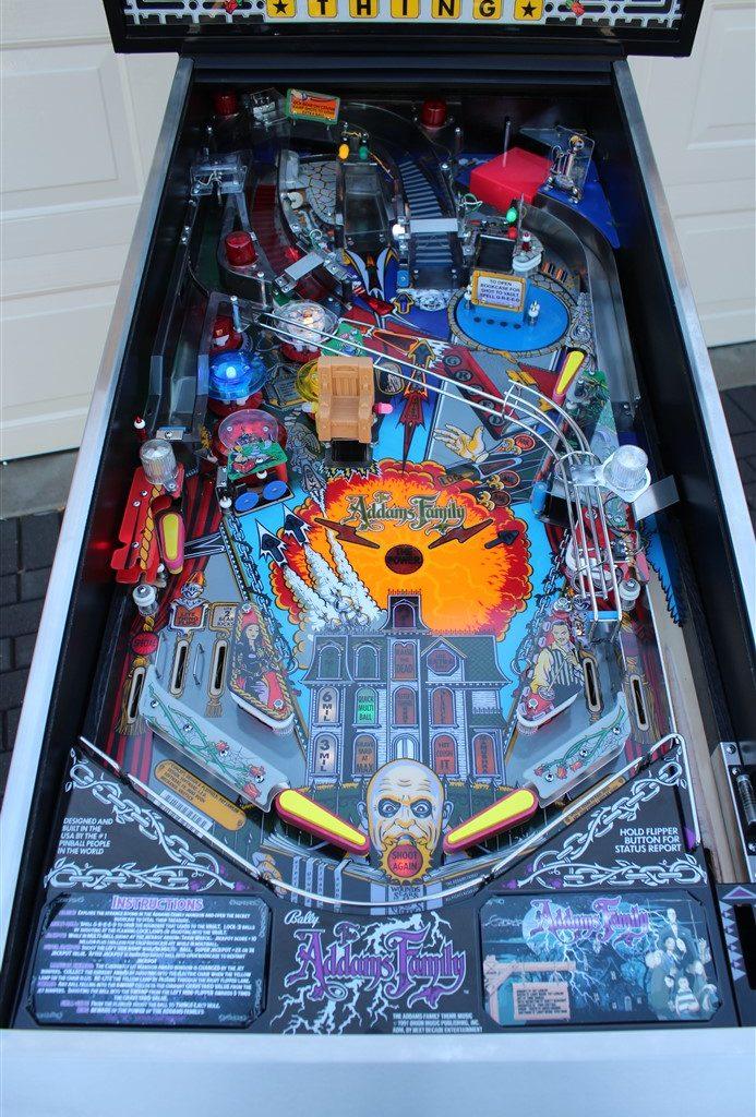 Addams Family Pinball At Arcade Classics Australia